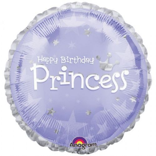 "18"" Express Yourself Birthday Princess Prismatic"